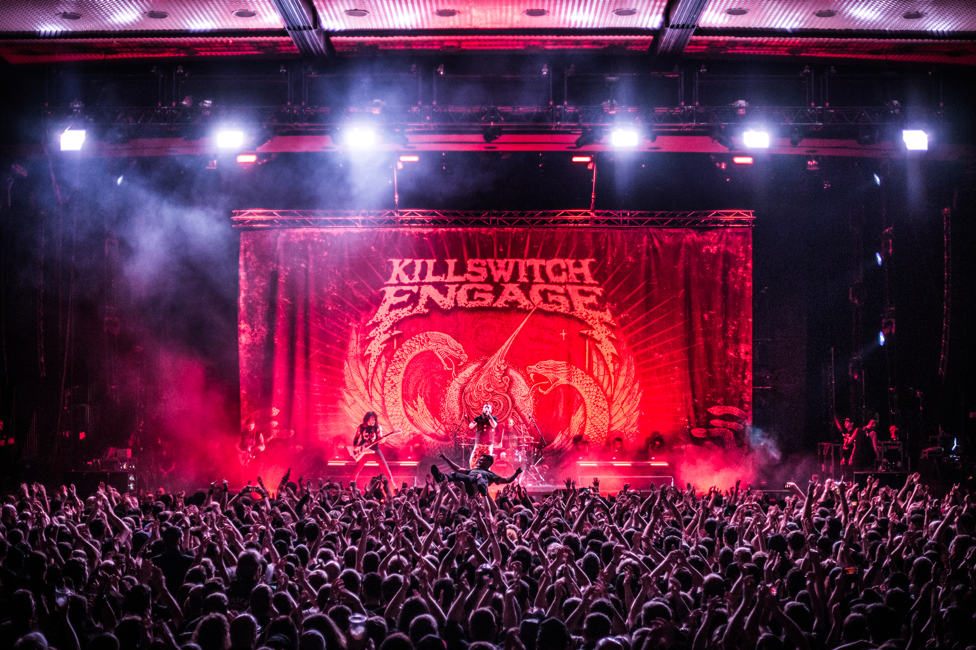 KILLSWITCH ENGAGE on REVERENCE tour - Vincent Grundke