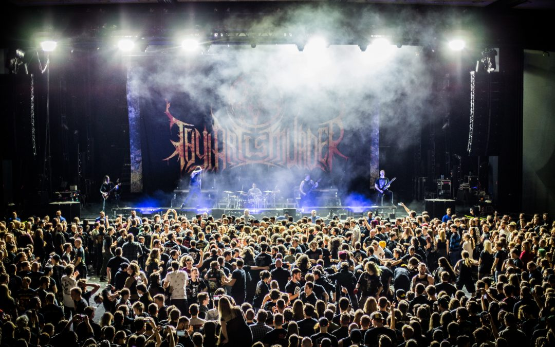 THY ART IS MURDER on REVERENCE tour