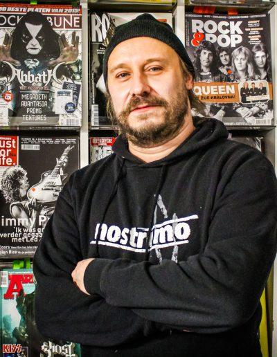 Lars Göran Petrov of Entombed A.D.