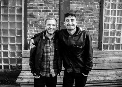 David Stephens & Kyle Pavone (✝) of We Came As Romans