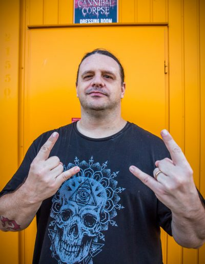 "George ""Corpsegrinder"" Fisher of Cannibal Corpse"