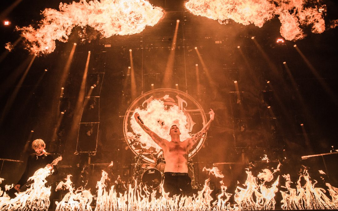 PARKWAY DRIVE on REVERENCE tour